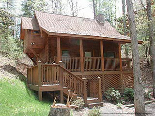 579 pigeon forge 7 day 6 night package 1 bedroom cabin for Luxury pet friendly cabins pigeon forge