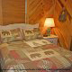 Kids Bedroom View of Cabin 22 (Beaver Lodge) at Eagles Ridge Resort at Pigeon Forge, Tennessee.