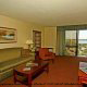 Roomy large deluxe suite at (Charleston Best Western) Charleston, South Carolina.