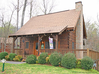 Eagles ridge pigeon forge tn 1 bedroom cabin for Eagles ridge log cabin
