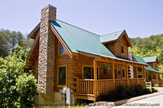 Pigeon forge tennessee 69 smoky mountain cabin rental deals for Eagles ridge log cabin