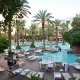Flamingo Las Vegas Hotel & Casino pool area