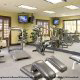 Fitness Center View of Hampton Vilano Inn in St. Augustine, Florida. Stay in shape during your Spring Break Vacation with family.
