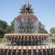 Holiday Inn Express and Suites Mt. Pleasant pineapple fountain