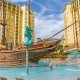 Lake Buena Vista Resort Village and Spa pirate ship