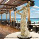 Outdoor Restaurant View at ME by Melia Cancun Resort in Cancun, Mexico. Enjoy healthy food during your Easter family Getaway.