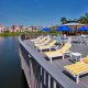 Runaway Bay Beach Resort lake deck