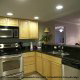 Modern Kitchen View at the Ocean View Vacation Villas in Biloxi, Mississippi.