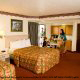One of the nicely appointed bedrooms at Pigeon River Inn in Pigeon Forge, TN. The hotel offers the best value for affordable Presidents Day Family Getaway.