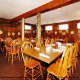 Restaurant dining room at the Rodeway Inn, Pigeon Forge's pet friendly lodging!