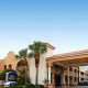 Main Entrance View at the Best Western Spanish Quarter Inn in St. Augustine, Florida.