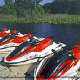 Jet ski rentals for lake fun at the Star Island Resort and Club in Orlando Florida.