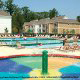 Kids Outdoor Pool View at Kings Creek Plantation in Williamsburg, VA. Your children will have a great time here during your Summer Break Vacation Special.