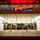 Main Entrance view at the Tropicana Hotel and Casino in Las Vegas, NV.