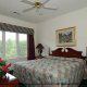 One of the bedrooms at the Wild Wing Resort in Myrtle Beach South Carolina.