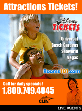 Rooms101.com is the discount attractions, theme park and Las Vegas show tickets headquarters!