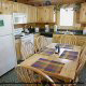 Kitchen View of Cabin 100 (Making Memories) at Eagles Ridge Resort at Pigeon Forge, Tennessee.
