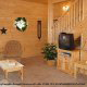Family Room View of Cabin 11 (Sweet Serenity) at Eagles Ridge Resort at Pigeon Forge, Tennessee.