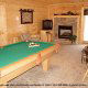 Game Room View of Cabin 11 (Sweet Serenity) at Eagles Ridge Resort at Pigeon Forge, Tennessee.