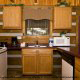 Kitchen View of Cabin 17 (Perfect Getaway) at Eagles Ridge Resort at Pigeon Forge, Tennessee.