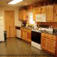 Kitchen View of Cabin 203 (Kevins Haven) at Eagles Ridge Resort at Pigeon Forge, Tennessee.