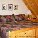 One of 5 bedrooms in cabin 207 (Count Your Blessings) at Eagles Ridge Resort at Pigeon Forge, Tennessee.