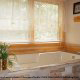 Private jacuzzi tub in cabin 207 (Count Your Blessings) at Eagles Ridge Resort at Pigeon Forge, Tennessee.