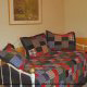 Loft with daybed in cabin 207 (Count Your Blessings) at Eagles Ridge Resort at Pigeon Forge, Tennessee.