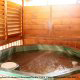 Hot Tub on Deck in Cabin 224 (Southern Comfort) at Eagles Ridge Resort at Pigeon Forge, Tennessee.