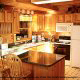Kitchen View of Cabin 224 (Southern Comfort) at Eagles Ridge Resort at Pigeon Forge, Tennessee.