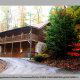 Outside View of Cabin 225 (Vivs View) at Eagles Ridge Resort at Pigeon Forge, Tennessee.
