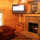 Great Room View of Cabin 232 (Mountain Spirits) at Eagles Ridge Resort at Pigeon Forge, Tennessee.