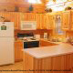 Kitchen View of Cabin 232 (Mountain Spirits) at Eagles Ridge Resort at Pigeon Forge, Tennessee.