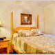 One of 5 bedrooms in cabin 233 (Bear Creek Lodge) at Eagles Ridge Resort at Pigeon Forge, Tennessee.