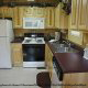 Fully furnished kitchen in cabin 251 (Eagles Landing ) , in Pigeon Forge, Tennessee.