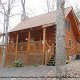 Outside front view of cabin 251 (Eagles Landing ) , in Pigeon Forge, Tennessee.