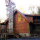 Exterior View of Cabin 262 (Tucked Away) at Eagles Ridge Resort at Pigeon Forge, Tennessee.
