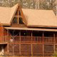 Exterior View of Cabin 300 (Soaring Eagles) at Eagles Ridge Resort at Pigeon Forge, Tennessee.
