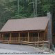 Front View of Cabin 302 (Best Of Times) at Eagles Ridge Resort at Pigeon Forge, Tennessee.