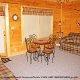 Country den in cabin 305 (Bear Right In) at Eagles Ridge Resort at Pigeon Forge, Tennessee.
