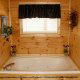Private jacuzzi in cabin 306 (A Smoky Mountain Dream) , in Pigeon Forge, Tennessee.
