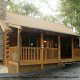 Front outside view of cabin 311 (Chanticleer) , in Pigeon Forge, Tennessee.