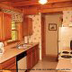 Kitchen View of Cabin 42 (Three Bears Lodge) at Eagles Ridge Resort at Pigeon Forge, Tennessee.