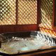 Hot Tub on Deck in Cabin 47 (Moody Blue) at Eagles Ridge Resort at Pigeon Forge, Tennessee.