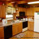 Kitchen View of Cabin 47 (Moody Blue) at Eagles Ridge Resort at Pigeon Forge, Tennessee.