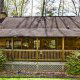 Front View of Cabin 57 (Bear Heaven) at Eagles Ridge Resort at Pigeon Forge, Tennessee.
