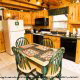 Kitchen View of Cabin 64 (Heavenly Peace) at Eagles Ridge Resort at Pigeon Forge, Tennessee.