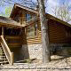 Outside View of Cabin 70 (Mountain Laurel Hideaway) at Eagles Ridge Resort at Pigeon Forge, Tennessee.