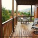 Back Deck View of Cabin 816 (Almost Paradise) at Eagles Ridge Resort at Pigeon Forge, Tennessee.