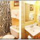 Large Bathroom View of Cabin 816 (Almost Paradise) at Eagles Ridge Resort at Pigeon Forge, Tennessee.
